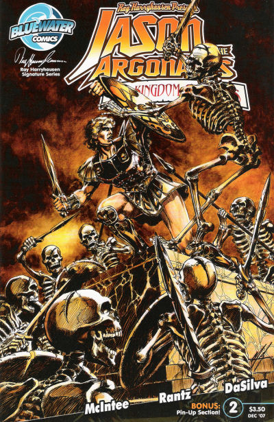 Cover for Jason and the Argonauts: Kingdom of Hades (2007 series) #2
