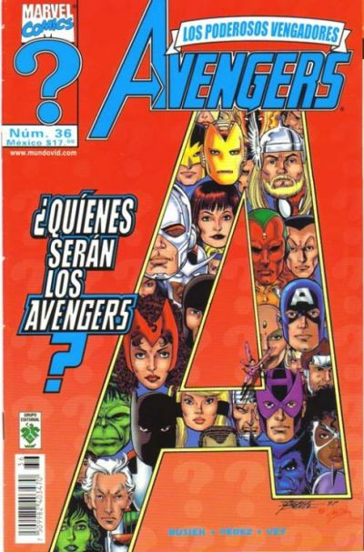 Cover for The Avengers (1998 series) #36