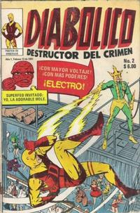 Cover Thumbnail for Diabolico (Novedades, 1981 series) #2