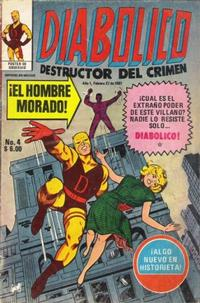 Cover Thumbnail for Diabolico (Novedades, 1981 series) #4