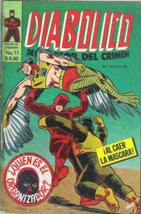 Cover for Diabolico (Novedades, 1981 series) #11
