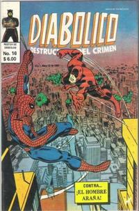 Cover Thumbnail for Diabolico (Novedades, 1981 series) #16