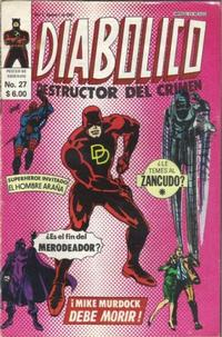 Cover Thumbnail for Diabolico (Novedades, 1981 series) #27