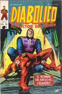 Cover Thumbnail for Diabolico (Novedades, 1981 series) #36