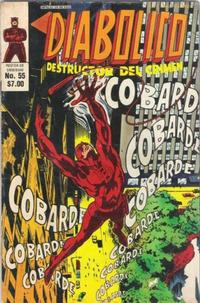 Cover Thumbnail for Diabolico (Novedades, 1981 series) #55