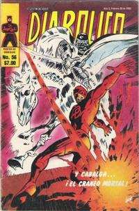 Cover Thumbnail for Diabolico (Novedades, 1981 series) #56