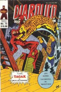 Cover Thumbnail for Diabolico (Novedades, 1981 series) #72