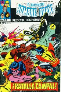 Cover Thumbnail for El Asombroso Hombre Araa Presenta (Novedades, 1988 series) #37