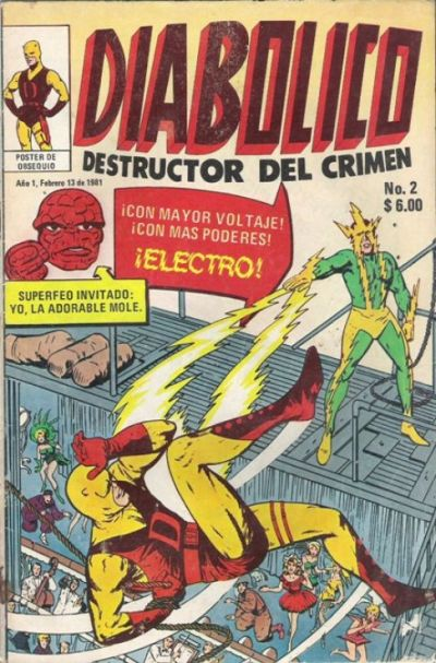 Cover for Diabolico (Novedades, 1981 series) #2
