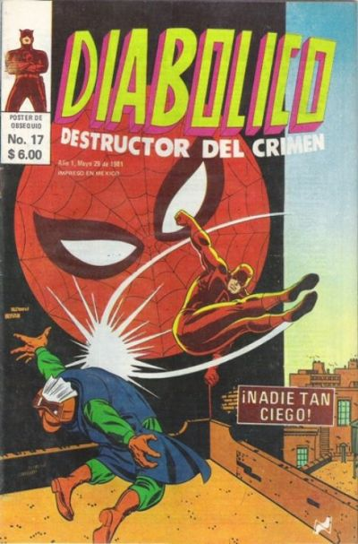 Cover for Diabolico (Novedades, 1981 series) #17