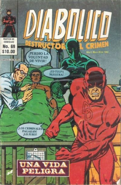 Cover for Diabolico (Novedades, 1981 series) #69