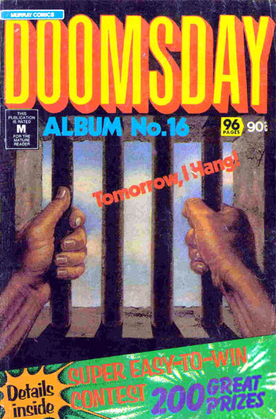 Cover for Doomsday Album (K. G. Murray, 1977 series) #16