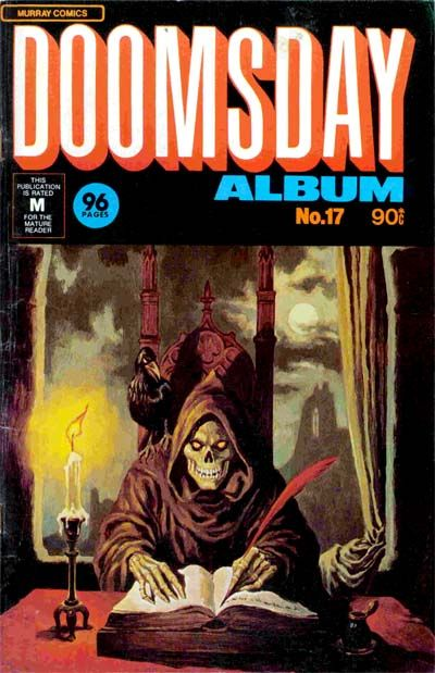 Cover for Doomsday Album (K. G. Murray, 1977 series) #17