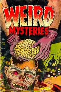 Cover Thumbnail for Weird Mysteries (Stanley Morse, 1952 series) #5