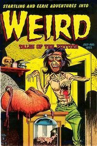 Cover Thumbnail for Weird Tales of the Future (Stanley Morse, 1952 series) #8