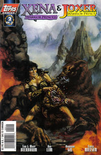 Cover Thumbnail for Xena: Warrior Princess/Joxer: Warrior Prince (Topps, 1997 series) #2 [Art Cover]