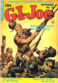 Cover Thumbnail for G.I. Joe (Ziff-Davis, 1951 series) #25