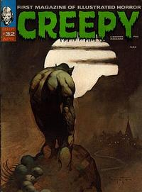 Cover for Creepy (1964 series) #32