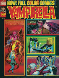 Cover for Vampirella (Warren, 1969 series) #26
