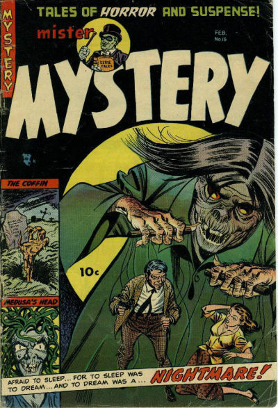 Cover for Mister Mystery (Stanley Morse, 1951 series) #15