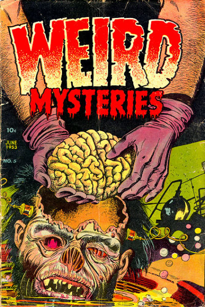 Cover for Weird Mysteries (Stanley Morse, 1952 series) #5