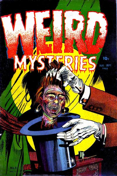 Cover for Weird Mysteries (Stanley Morse, 1952 series) #6