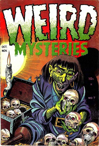 Cover for Weird Mysteries (1952 series) #7