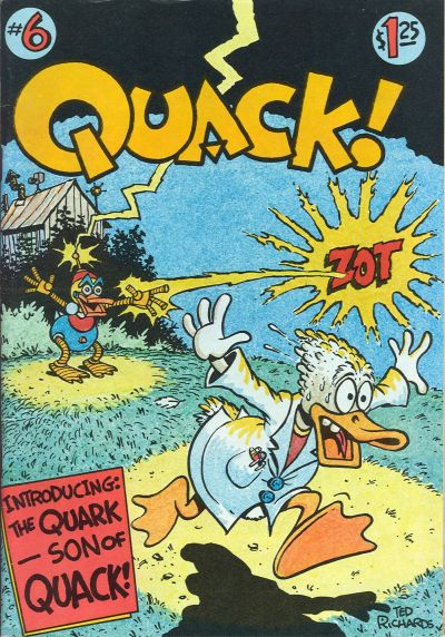 Cover for Quack (Star*Reach, 1976 series) #6