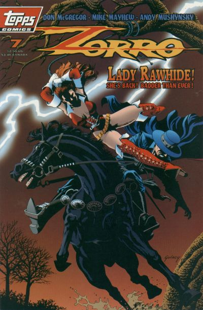 Cover for Zorro (1993 series) #7