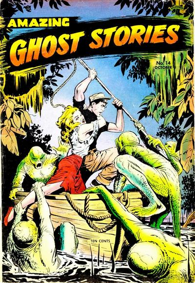 Cover for Amazing Ghost Stories (St. John, 1954 series) #14