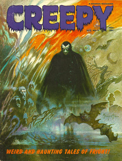 Cover for Creepy (Warren, 1964 series) #5