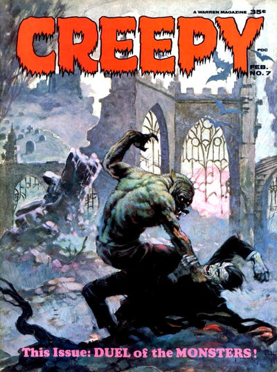 Cover for Creepy (1964 series) #7