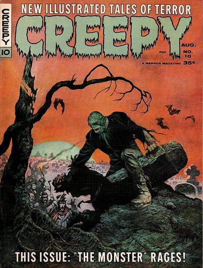 Cover for Creepy (Warren, 1964 series) #10