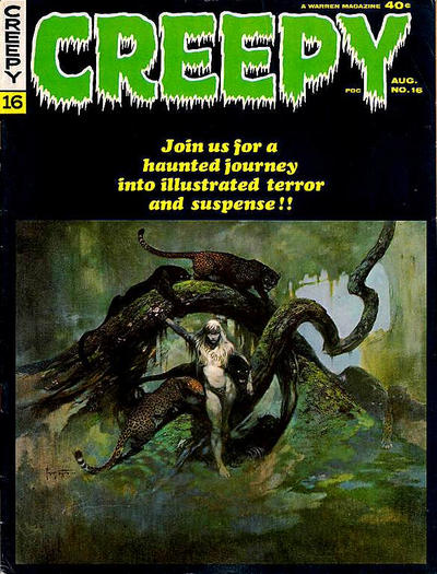 Cover for Creepy (Warren, 1964 series) #16