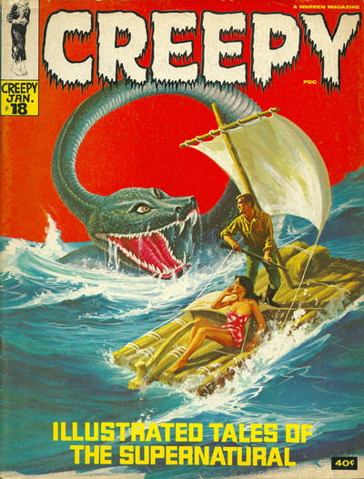 Cover for Creepy (Warren, 1964 series) #18