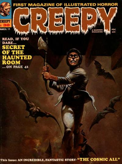 Cover for Creepy (Warren, 1964 series) #38