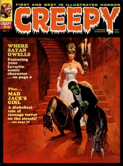 Cover for Creepy (Warren, 1964 series) #39