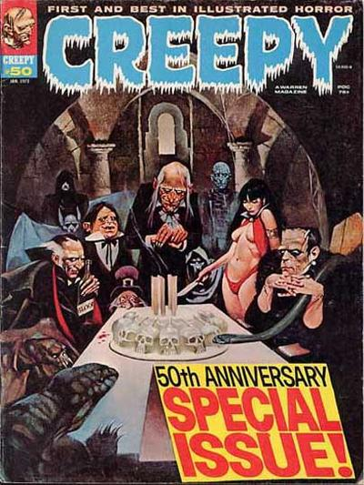 Cover for Creepy (1964 series) #50