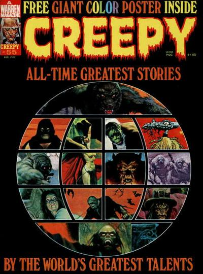 Cover for Creepy (Warren, 1964 series) #55