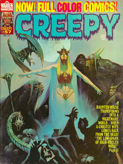 Cover for Creepy (1964 series) #57