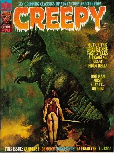 Cover for Creepy (1964 series) #78
