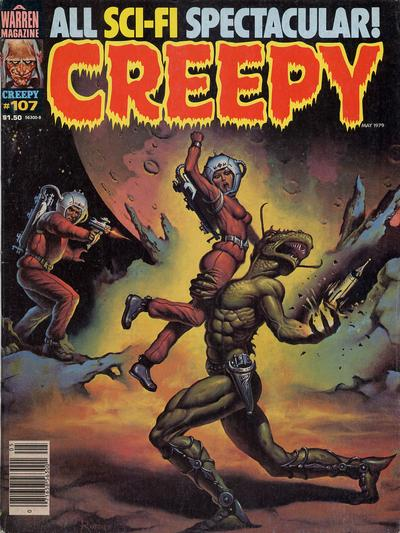 Cover for Creepy (Warren, 1964 series) #107
