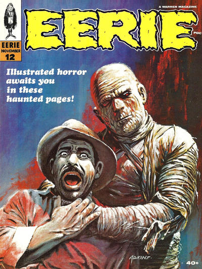 Cover for Eerie (1966 series) #12