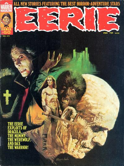 Cover for Eerie (Warren, 1966 series) #50