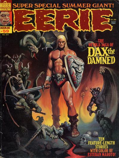 Cover for Eerie (Warren, 1966 series) #59