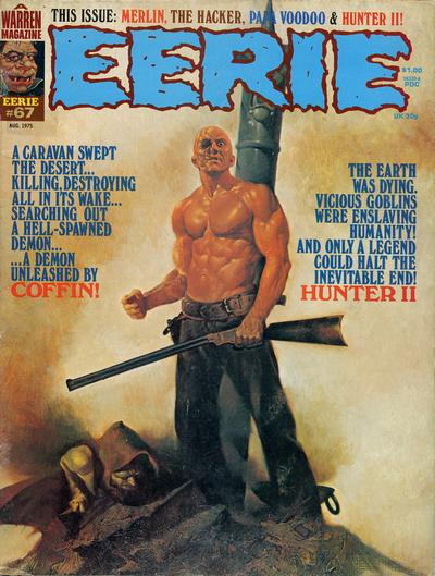 Cover for Eerie (Warren, 1966 series) #67