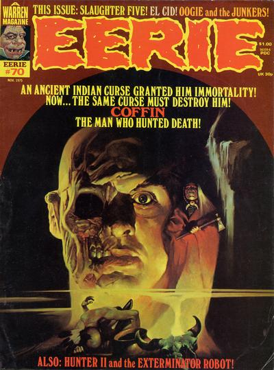 Cover for Eerie (Warren, 1966 series) #70