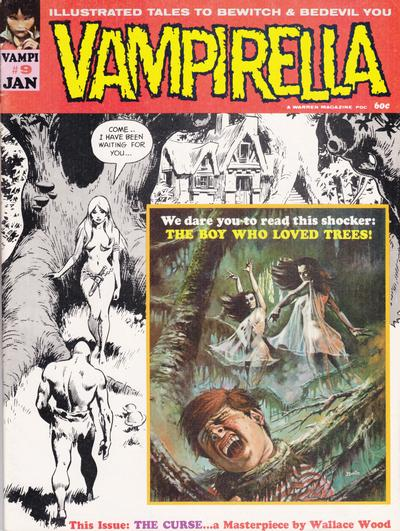 Cover for Vampirella (Warren, 1969 series) #9