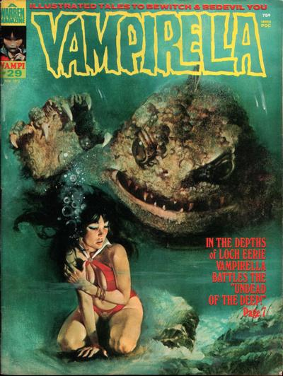 Cover for Vampirella (Warren, 1969 series) #29