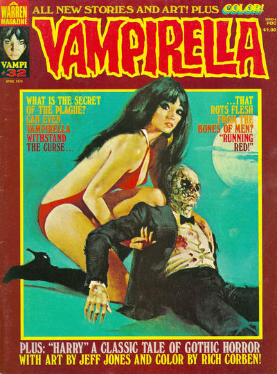 Cover for Vampirella (1969 series) #32